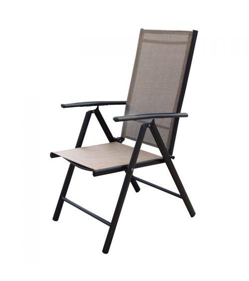 Krzesło ogrodowe doskonale sprawdzi się również jako krzesło do jadalni.