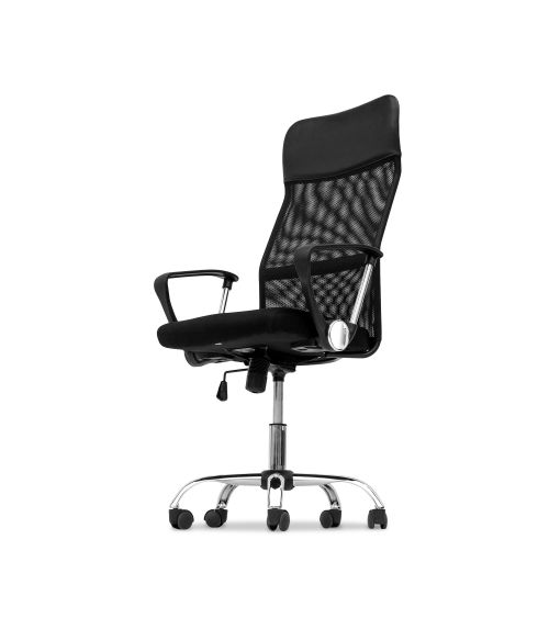 Fotel do biurka w kolorze czarnym