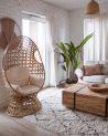 Krzesło obrotowe do domu z poduszkami