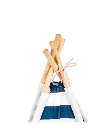 TIPI dla dzieci - namiot ze stabilnym stelażem.