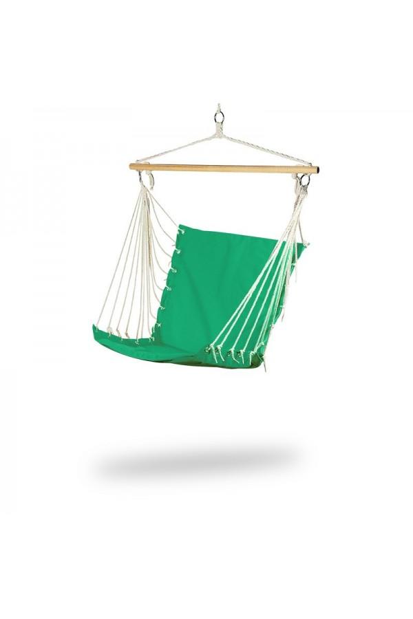 Krzesło brazylijskie do domu w kolorze zielonym