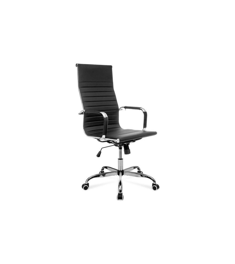 Ergonomiczny fotel biurowy - klasyczny czarny kolor