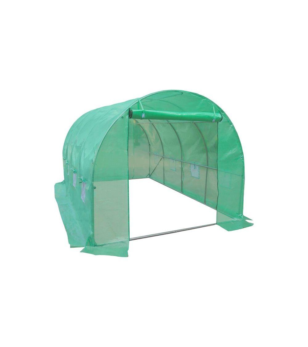 Tunel foliowy - foliaki ogrodowe do przydomowej uprawy roślin