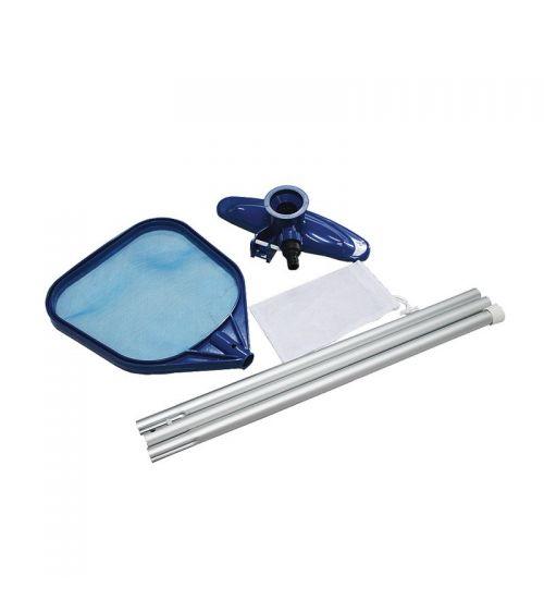 Zestaw do czyszczenia basenów doskonale sprawdza się do przygotowania basenu do kąpieli.