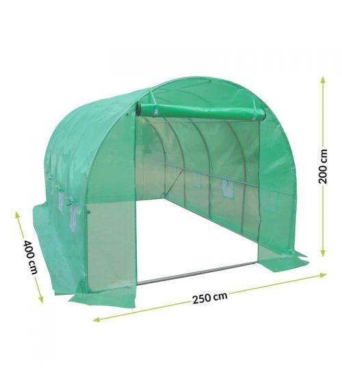 Szklarnie foliowe - stwórz odpowiednie warunki w tunelu ogrodowym