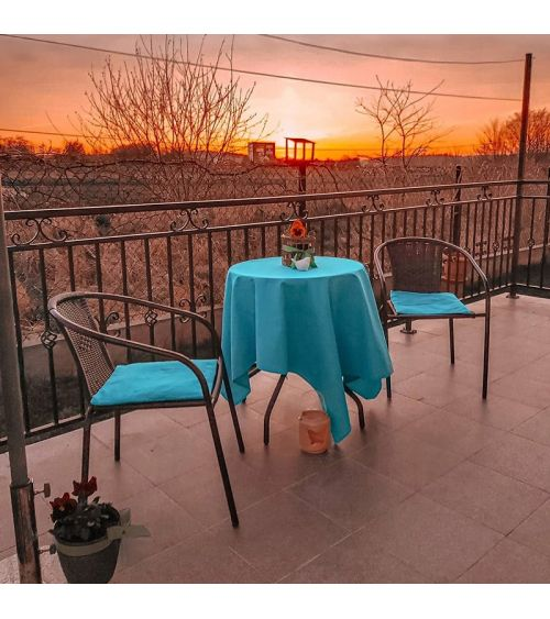 Zestaw mebli balkonowych dla dwóch osób