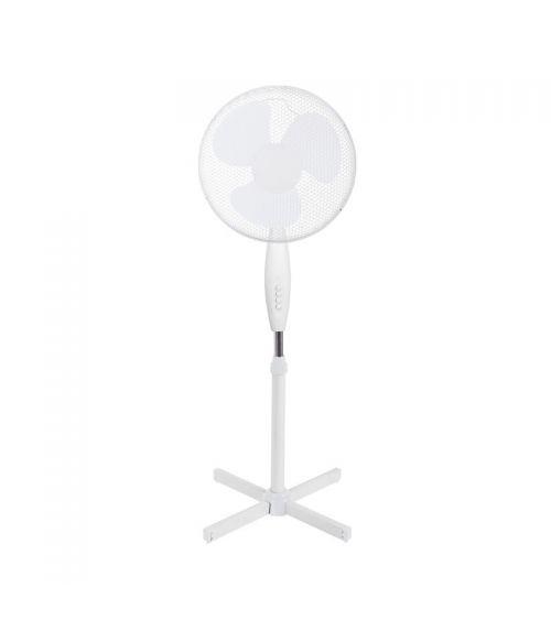Wentylator stojący doskonale wprawia w ruch powietrze chłodząc tym samym podczas upalnych dni.