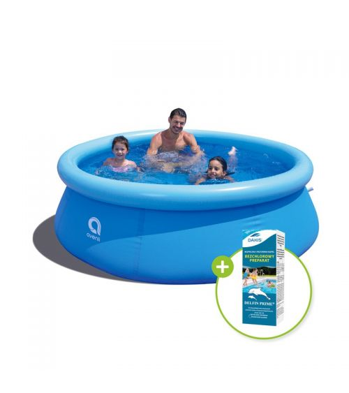 Zestaw basen i chemia basenowa doskonale sprawdzą się do pielęgnacji.