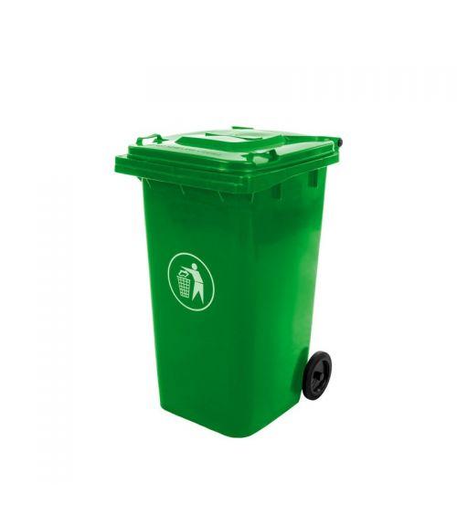 Kubeł zielony 240L kosz na odpady komunalne