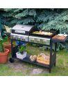 Duży grill gazowy z pokrywą - doskonały wybór do przyrządzenia perfekcyjnych potraw grillowych.
