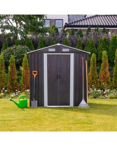 Domki narzędziowe blaszane - schowek ogrodowy.