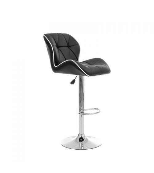 Krzesło barowe w kolorze czarnym