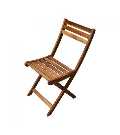 Składane krzesło ogrodowe z akacji