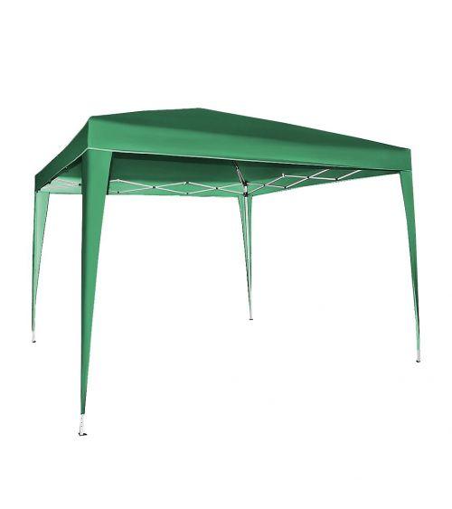 Zielony namiot ogrodowy - pawilon ogrodowy 3x3