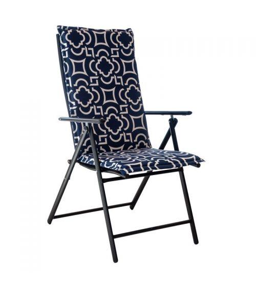 Poduszki na krzesła z wysokim oparciem