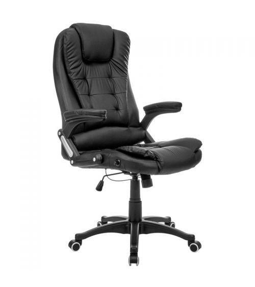 Fotel z masażem cieszący się sporym powodzeniem jako fotel gamingowy.