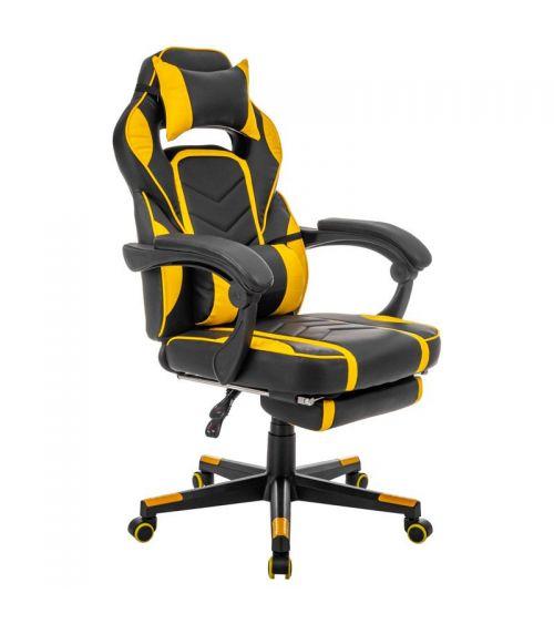 Krzesła do biurka z ergonomicznie wyprofilowanym siedziskiem - fotele gamingowe