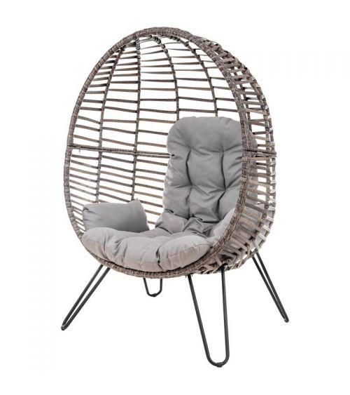 Wygodny fotel do salonu - fotel rattanowy