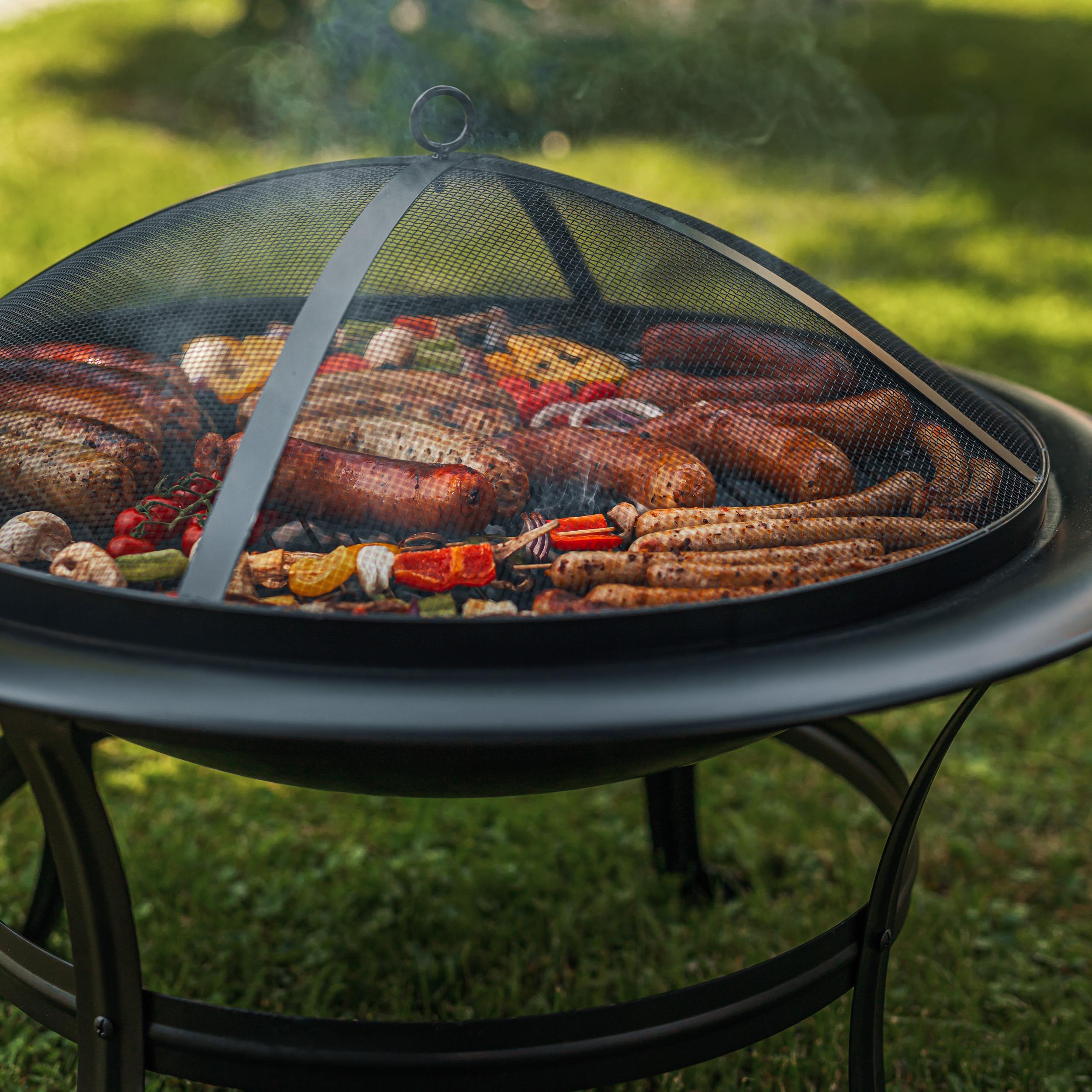 Paleniska ogrodowe - grill węglowy