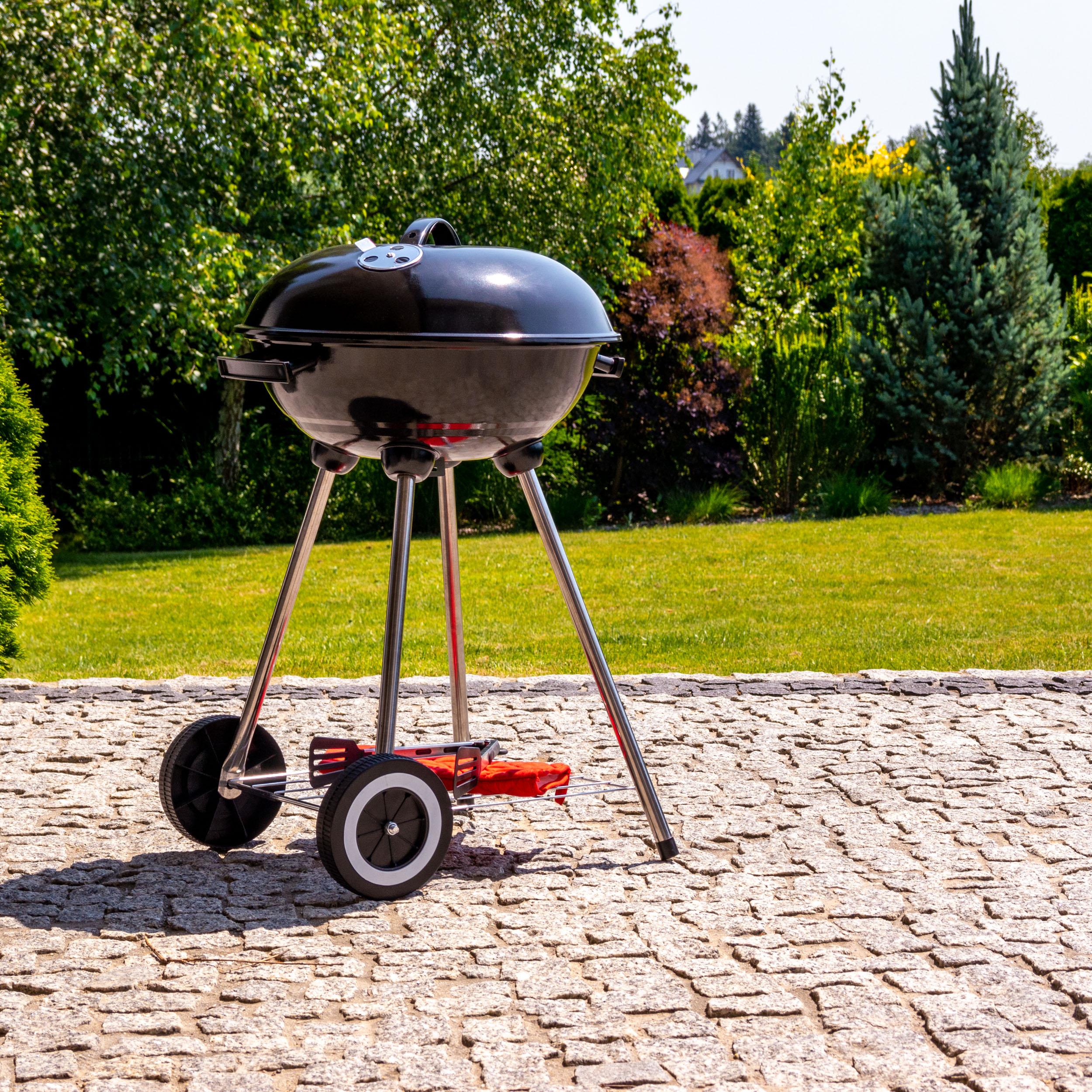 Grill węglowy z regulacją przepływu powietrza