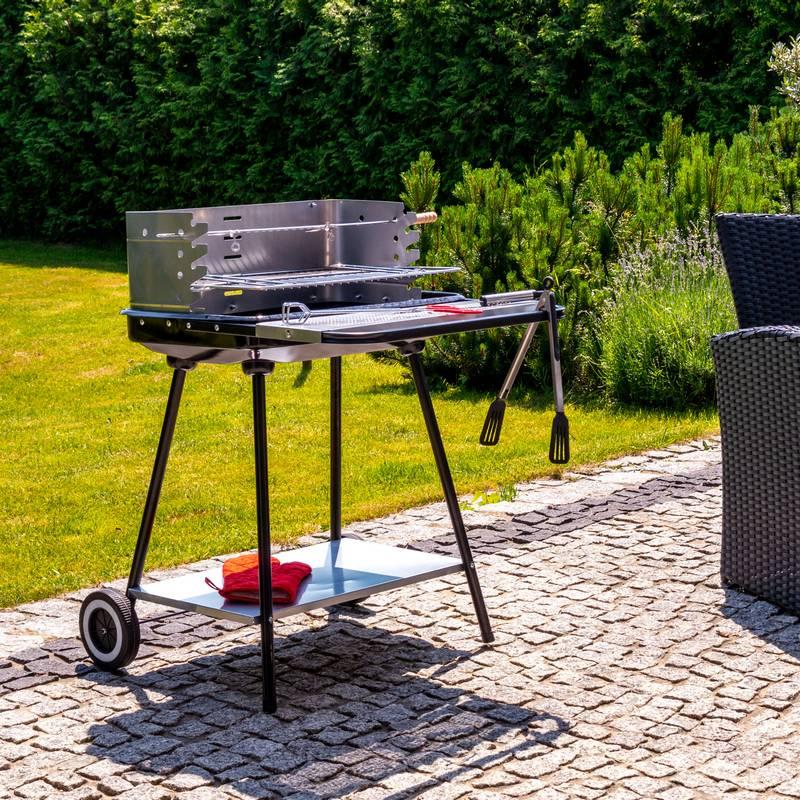 Grill węglowy - grille węglowe z półkami