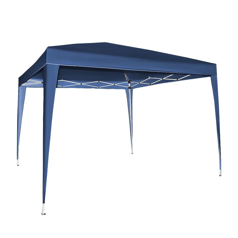Pawilon ogrodowy 3x3 - namioty ogrodowe w kolorze niebieskim
