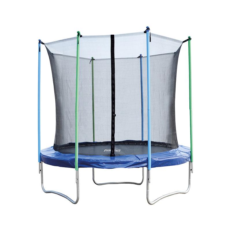Trampolina dla dzieci - trampolina ogrodowa z siatką bezpieczeństwa