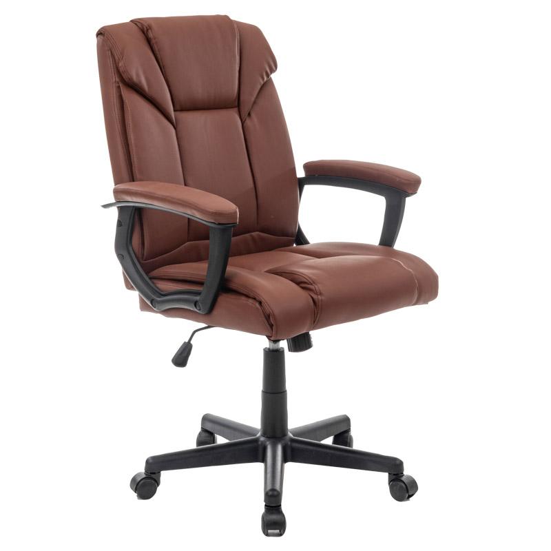 Skórzany fotel do biurka